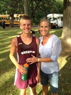 Jonah and mom, Christopher had a broken foot for most of the season and still came back and made it to STATE!